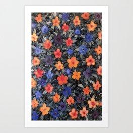 April Flowers Art Print