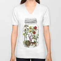 huebucket V-neck T-shirts featuring The Way You Remember Me by Huebucket