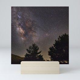 Milkyway at the mountains. Saggitarius Antares and Rho Ophiuchus Mini Art Print