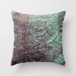 Cueva del Indio Throw Pillow