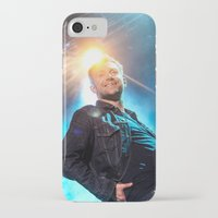 gorillaz iPhone & iPod Cases featuring Damon Albarn (Blur) - II by Tomás Correa Arce (RockMe TommyBoy)