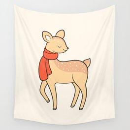 Doe deer Wall Tapestry