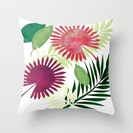 Madagaskar Throw Pillow