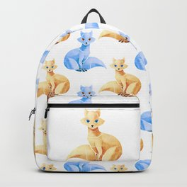 Arctic fox Backpack