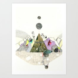 Climbers - Cool Kids Climb Mountains Art Print