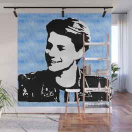 jace norman art print blue Wall Mural