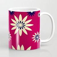 daisies Mugs featuring Daisies by Armin