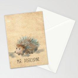 Mr. Porcupine Stationery Cards