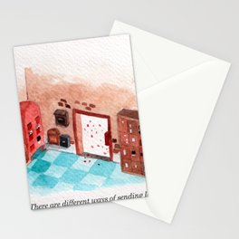Letters Story Part 1/6: A post office to send love.  Stationery Cards
