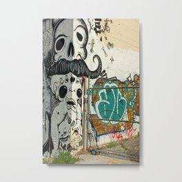 Corner Wall  Metal Print