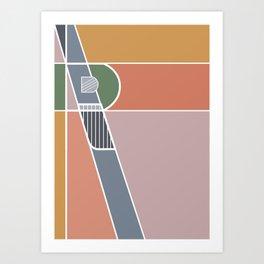 R&R Art Print