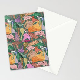 Stack of animals Stationery Cards
