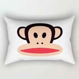 Cute Monkey (Julius Monkey) Rectangular Pillow