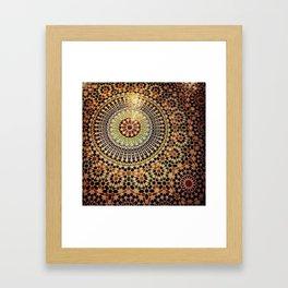 Moroccan Tiles. Framed Art Print