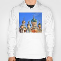 russia Hoodies featuring Basilica in Russia  by Limitless Design