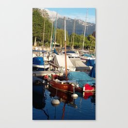 Yachts II Canvas Print