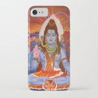 shiva iPhone & iPod Cases featuring Shiva by Antonimo-discipulosinmaestro