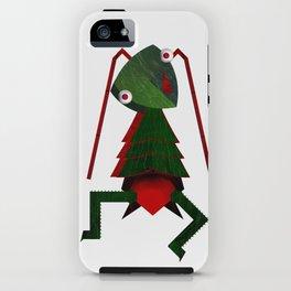 Monster - cricket iPhone Case