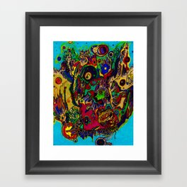 Frail (in color) Framed Art Print