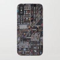 the neighbourhood iPhone & iPod Cases featuring Parisian Neighbourhood by Guillaume Cornet