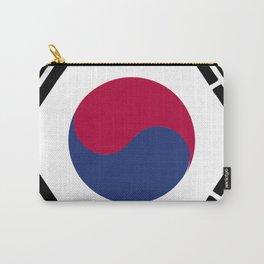 South Korea flag emblem Carry-All Pouch
