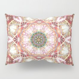Mandalas from the Heart of Freedom 26 Pillow Sham