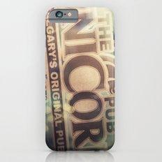 The Unicorn Pub iPhone 6 Slim Case