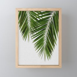 Palm Leaf II Framed Mini Art Print