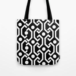 Ethnic Pattern (black) Tote Bag