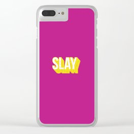 Slay Clear iPhone Case