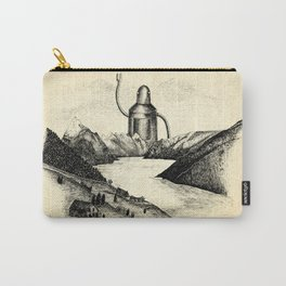 A Visitor From The North Carry-All Pouch