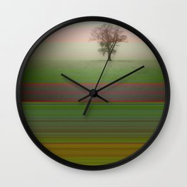 Folsom by Kenny Rego Wall Clock