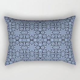 Serenity Geometric Rectangular Pillow