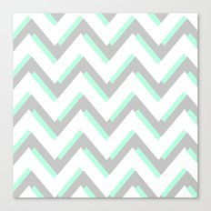 MOD CHEVRON Canvas Print