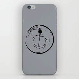 Anchor Stamp iPhone Skin