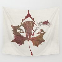 game of thrones Wall Tapestries featuring Favourite Game by Paula Belle Flores