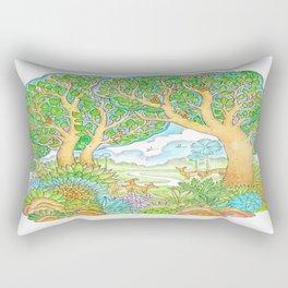 Enjoy the nature. Rectangular Pillow