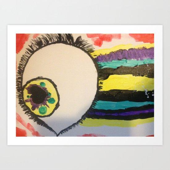 Eye Heart You Art Print