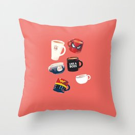 Workday Persona  Throw Pillow