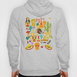 Fiesta Time! Mexican Icons Hoody