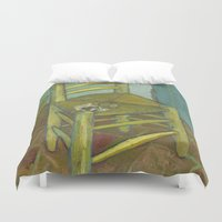 van Duvet Covers featuring Van Gogh by Palazzo Art Gallery