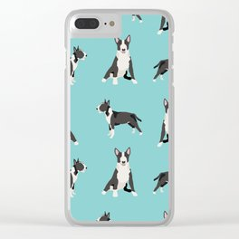 Bull Terrier dog breed pet friendly gifts terriers bull terriers Clear iPhone Case
