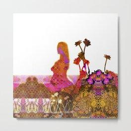 NatureWoman Metal Print
