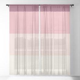 Sugary Dream Sheer Curtain