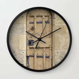 The old door Wall Clock