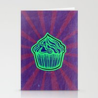 cupcake Stationery Cards featuring Cupcake by Meyyen