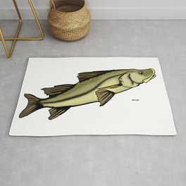 Snook out of water Rug