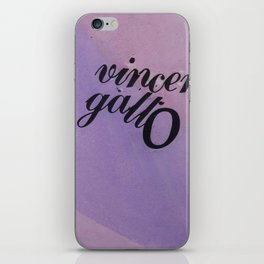 Vincent Gallo Fan iPhone Skin