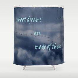 goose dreams Shower Curtain