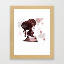 Mizue Framed Art Print
